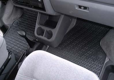 1992 2003 Eurovan Rubber Front Floor Mats Genuine Vw High