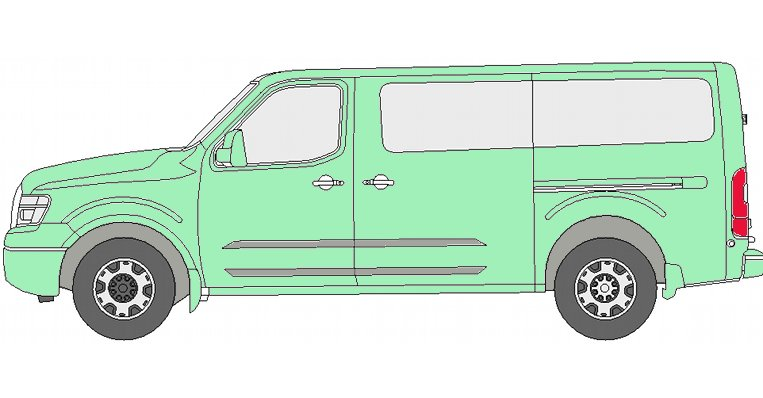 Nissan NV Van