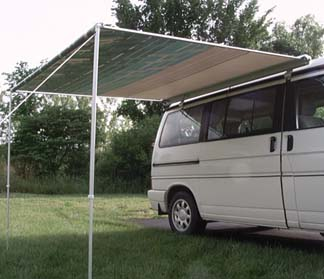 Fiamma F35 Pro Awning on VW EuroVan & Fiamma F35 Pro Awnings for vans trucks u0026 campers